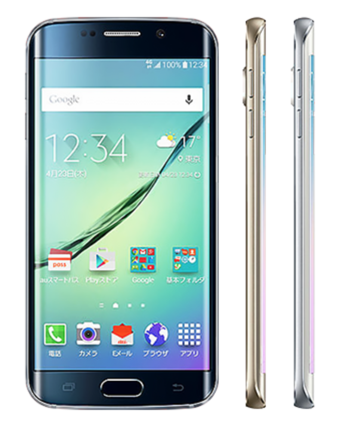 Galaxy S6 edge(SC-04G・SCV31・404SC)