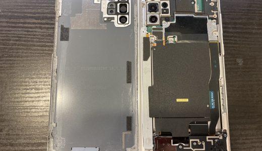 【Galaxy Note10+】充電不良の点検修理実績(新宿店)