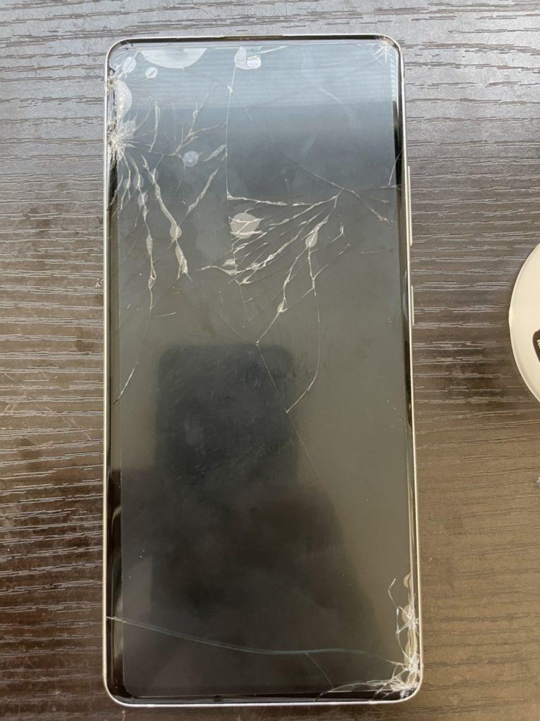 Galaxy A51 5G 画面割れ 画面修理 画面交換 修理 新宿