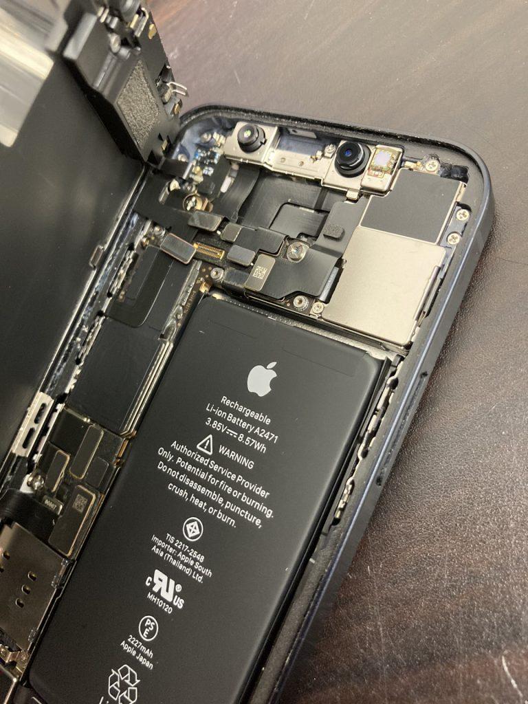 iPhone 12 mini リンゴループ 修理 新宿