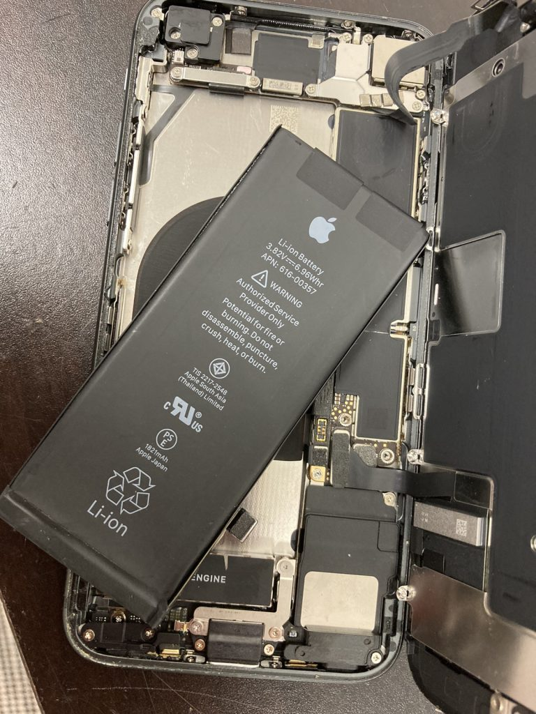 iPhone バッテリー 交換 新宿