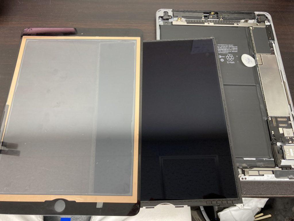 iPad 6 2018 ガラス割れ 画面割れ ガラス修理 画面修理 ガラス交換 画面交換 修理 新宿