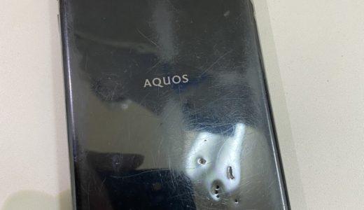 【AQUOS R SHV39】バッテリー交換修理(蒲田店)