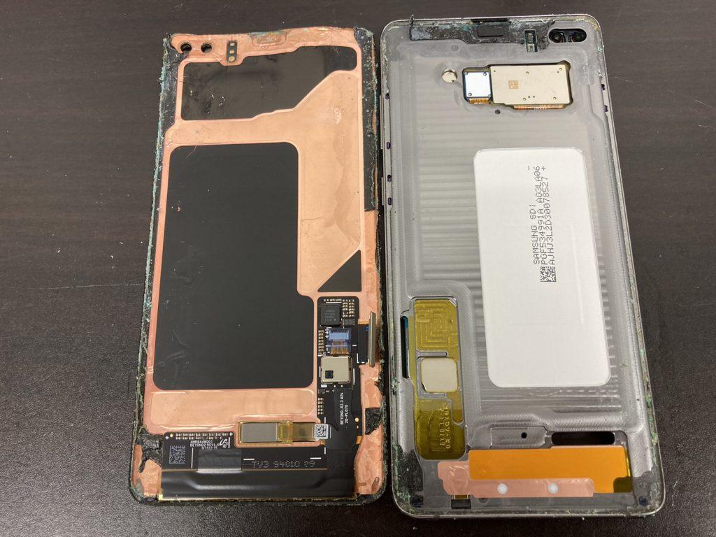 Galaxy S10+ 画面割れ 液晶不良 画面修理 画面交換 液晶修理 液晶交換 修理 新宿