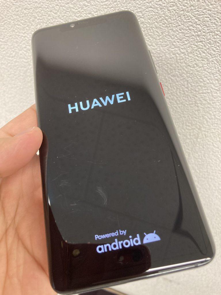 HUAWEI Mate20Pro 起動不可 バッテリー交換 修理 新宿