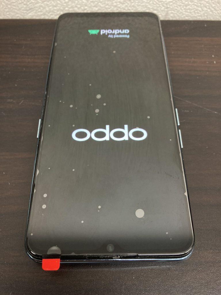 OPPO Reno3 A 画面割れ 液晶不良 画面交換 液晶交換 画面修理 液晶修理 修理 新宿