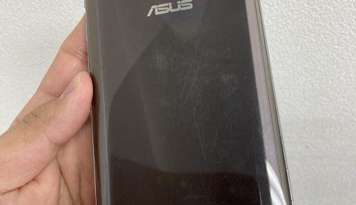 【ZenFone Max Pro(M2) ZB631KL】割れた画面の交換修理実績(新宿店)